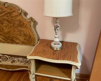 Matching headboard and side table/night stand