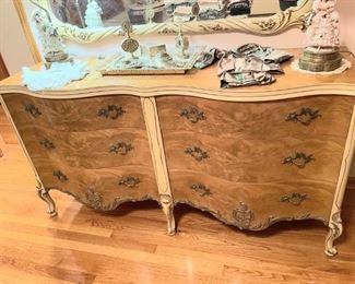 2nd bedroom set. Dresser with mirror