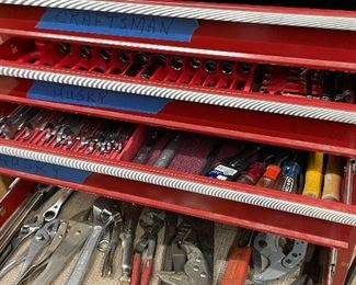Large assortment of American-made tools