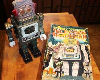 Robot Toy in Original Box