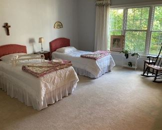 Another View of Twin Bed Set & Bedding