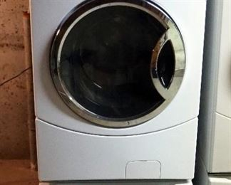 GE Washing Machine, Model WCVH6400-J1WW, Front Loading, Includes Drawer