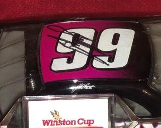 Jeff Burton Signed Winston Cup DIECAST car