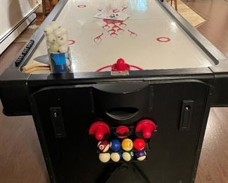 Fat Cat 3 in 1 7 Foot Pockey Multi Game Table.  Ping Pong, Pool and Air Hockey.  By GLD