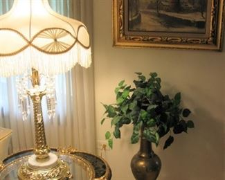 GOLD ORNATE TABLE   BUY IT NOW $ 135.00 EACH