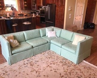 Vintage sectional sofa in perfect shape