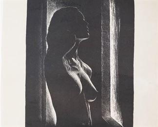 Vintage Ettore Giaccaglia S/N print