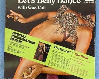 Gud Vali Let's Belly Dance LP - no book