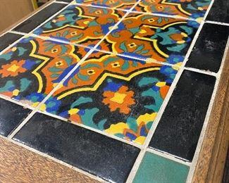 Malibu Tile Table ... Love this table!