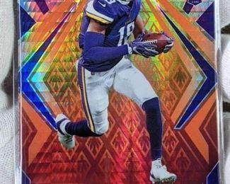 Justin Jefferson Rookie Football Card
