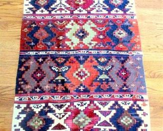 A TRIBAL KILIN FROM IRAN (FLAT WOVEN) 20TH CENTURY AND EXCELLENT CONDITION