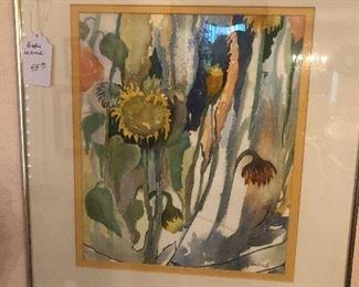 Pruddie Leibrock painting