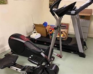 exercise bike/treadmill/rowing machine