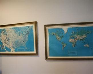 3-D maps