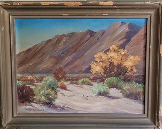 Joanne Cromwell desert landscape oil painting