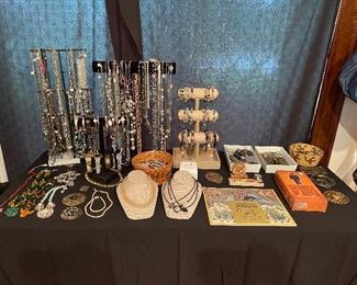 Costume Jewelry, Watches, etc.