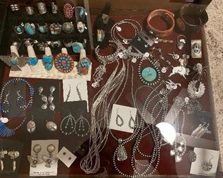 Native American and Sterling Jewelry