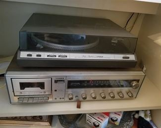 Radio  record player