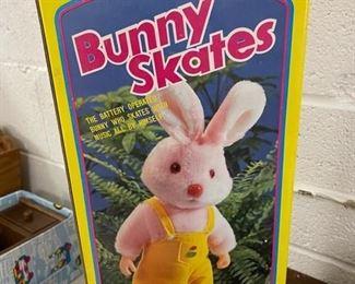 Vintage Bunny Skates.