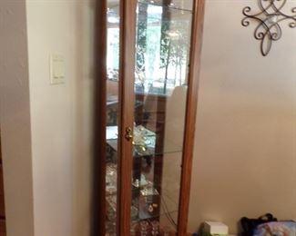 curio cabinet, swavarski crystal