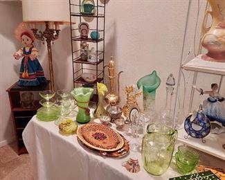 Romanian Glassware, Vaseline Glass