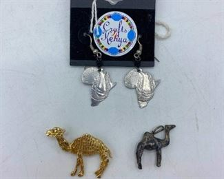 Africa Jewelry Pendants And Earrings
