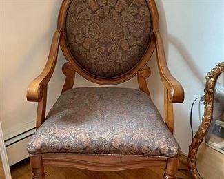 Queen Anne Chair - $40