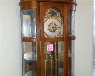 Curio Grandfather Clock