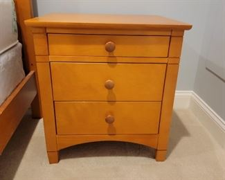 side tables (2): 24 x 22 x 19  $125 each