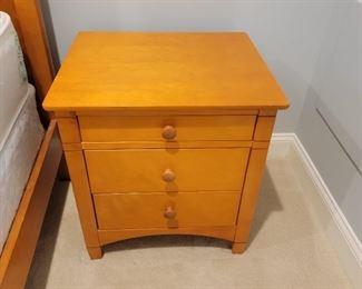 side tables (2): 24 x 22 x 19