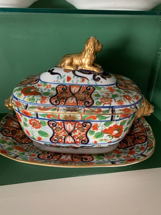 Soup Tureen  great example of Chanberlain's Worcester porcelain