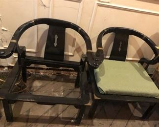 BLACK SIDE CHAIRS