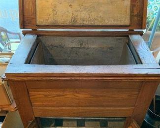 Antique Refrigerator Box