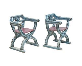 Pair of Italian Renaissance Chairs