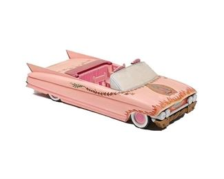 Luis Tapia, Pink Cadillac Carving, 1966