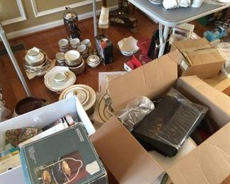 Glassware, home goods