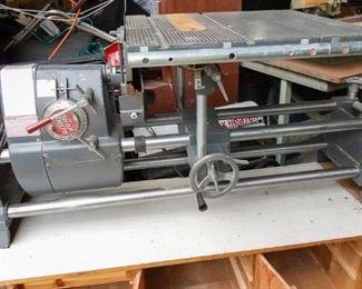 Shopsmith Lathe w/ Custom Cabinet Below