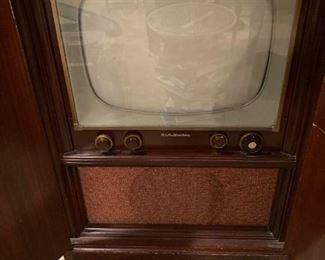 1950s Cabinet TV