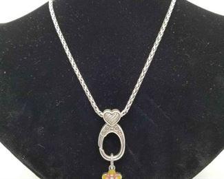 Brighton Clip On Charm Necklace