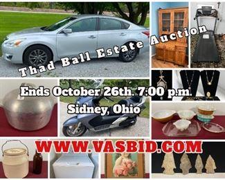 Ball Auction Banner