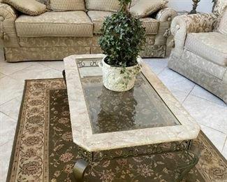 Elegant Coffee Table End Tables