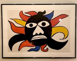 Black Sun (1969) by Alexander Calder; Limited Edition, Numbered and Signed.