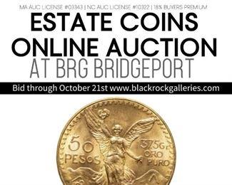 ESTATE COINS ONLINE AUCTION CT Instagram Post