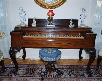 Melodeon Organ - Circa mid 1800's