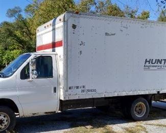 2002 Ford Diesel Box truck 163,000 miles