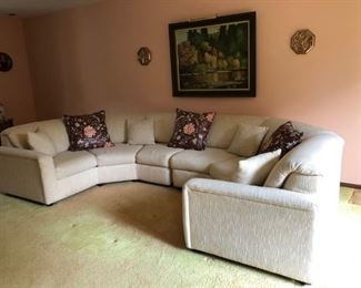Sectional Sofa, Painting