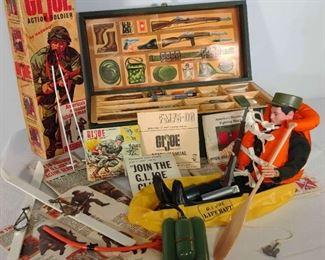 60s Authentic G.I. Joe and Footlocker