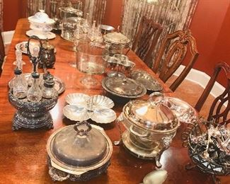 IMPORTANT:   Sale is also on Friday by appointment only.  Call for location.  Sterling and silver plated items.