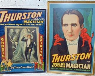 Great selection of vintage Magician posters
