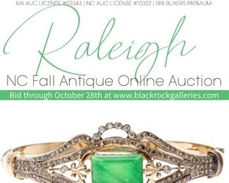 RALEIGH NC FALL ANTIQUE ONLINE AUCTION CT Instagram Post
